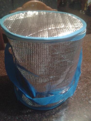 cava o bolso termico playero para alimentos bebidas hielo