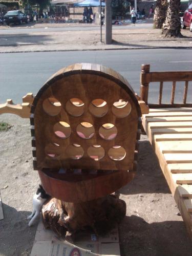 cava para botellas de vino rustica