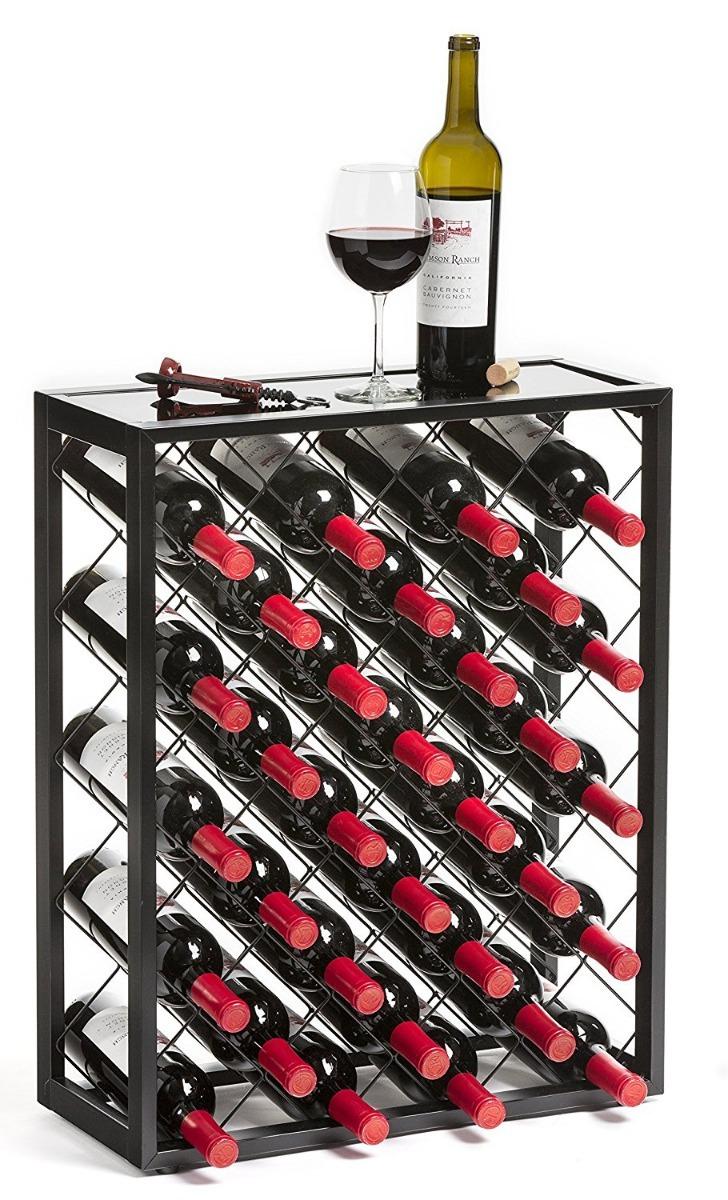 Cava para vinos estanteria para vinos de 32 botellas - Estanterias para botellas ...
