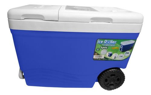 cava playera termica con ruedas 55 litros ice roller decocar
