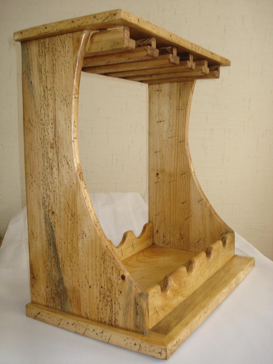 Cava r stica para de pino apolillada for Bar de madera de pino