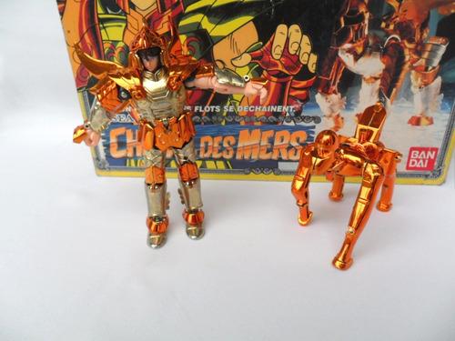 cavaleiros do zodíaco boneco cheval des mers bandai 1987