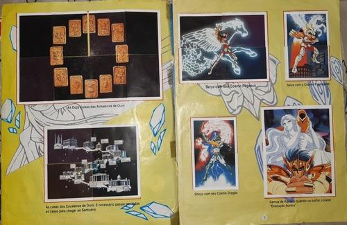 cavaleiros do zodíaco - libro ilustrado - completo