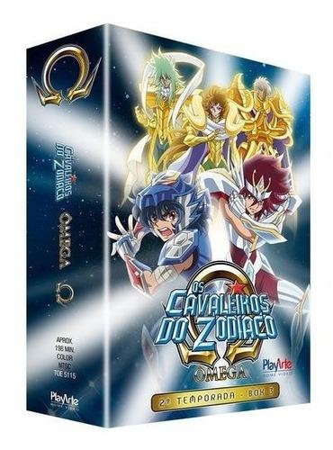 cavaleiros do zodíaco ômega, os - 2ª temporada - box 3