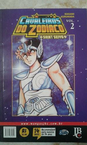 cavaleiros do zodiaco original jbc vol: 2, 3, 4 e 5