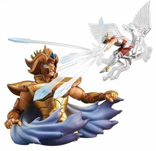 cavaleiros do zodíaco seiya diorama collection megahouse cdz