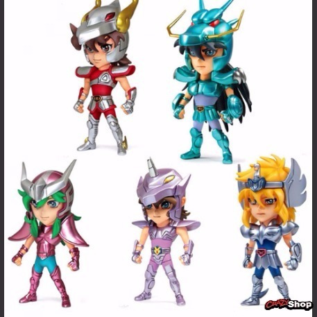 cavaleiros zodíaco bonecos