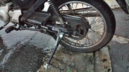 cavalete forte moto carga gás agua cg 125 150 titan ybr fan