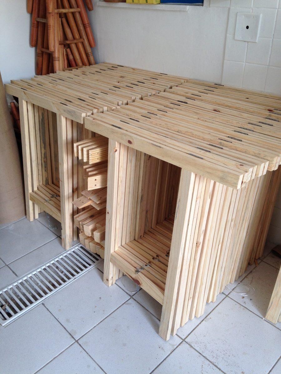 Cavalete mesa escritorio madeira studio curi modelo weak for Modelos de mesas