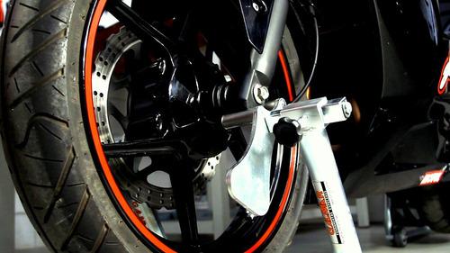 cavalete moto universal suspensão dianteira - galmar