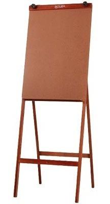 cavalete para flip-chart madeira mogno 89x59cm 1 un souza