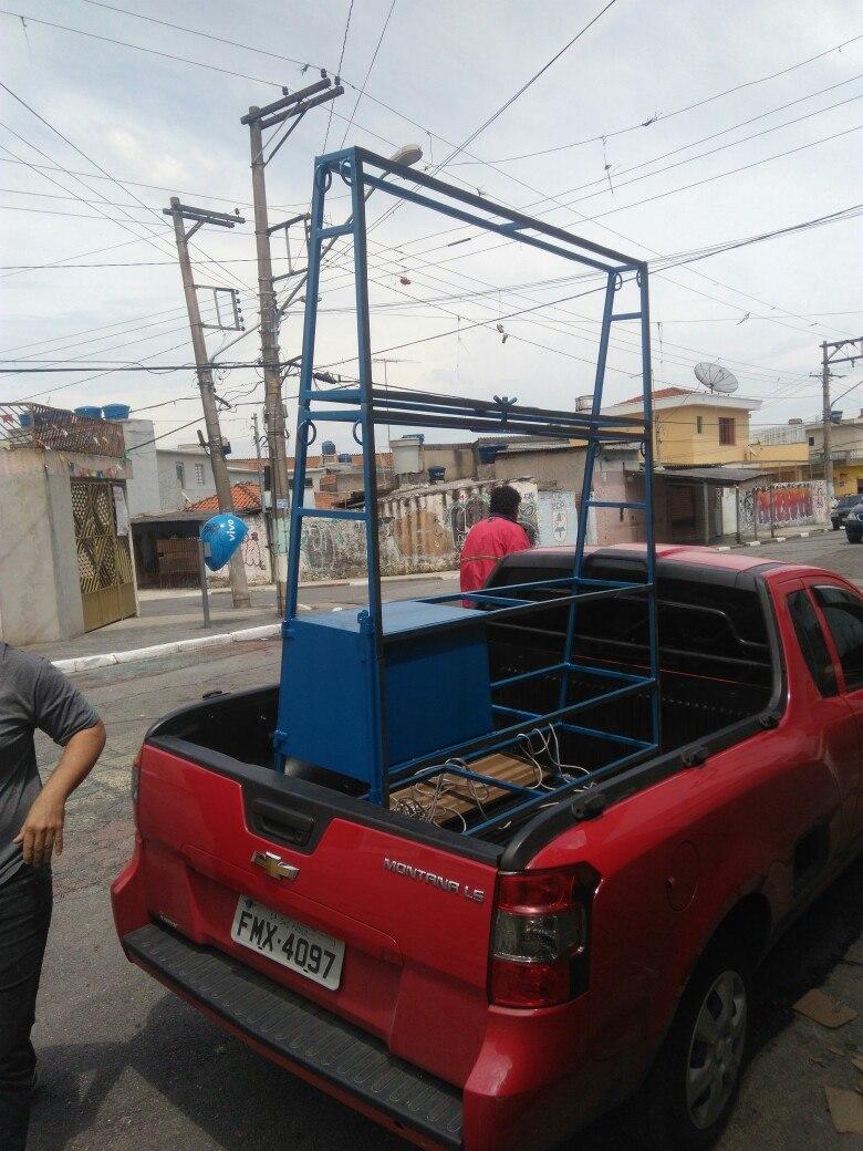 Cavalete Para Transporte De Vidros - R$ 850,00 em Mercado