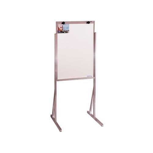 cavalete quadro branco aluminio flip chart sem rodizio 90x60