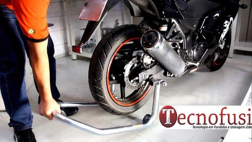 cavalete traseiro para moto - tecnofusi / ferpec
