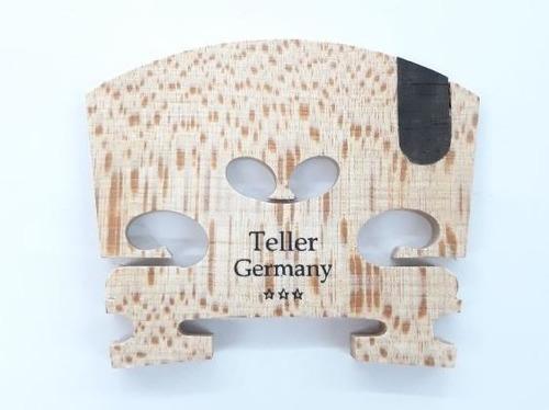 cavalete violino 4/4 germany teller 3 estrelas ébano