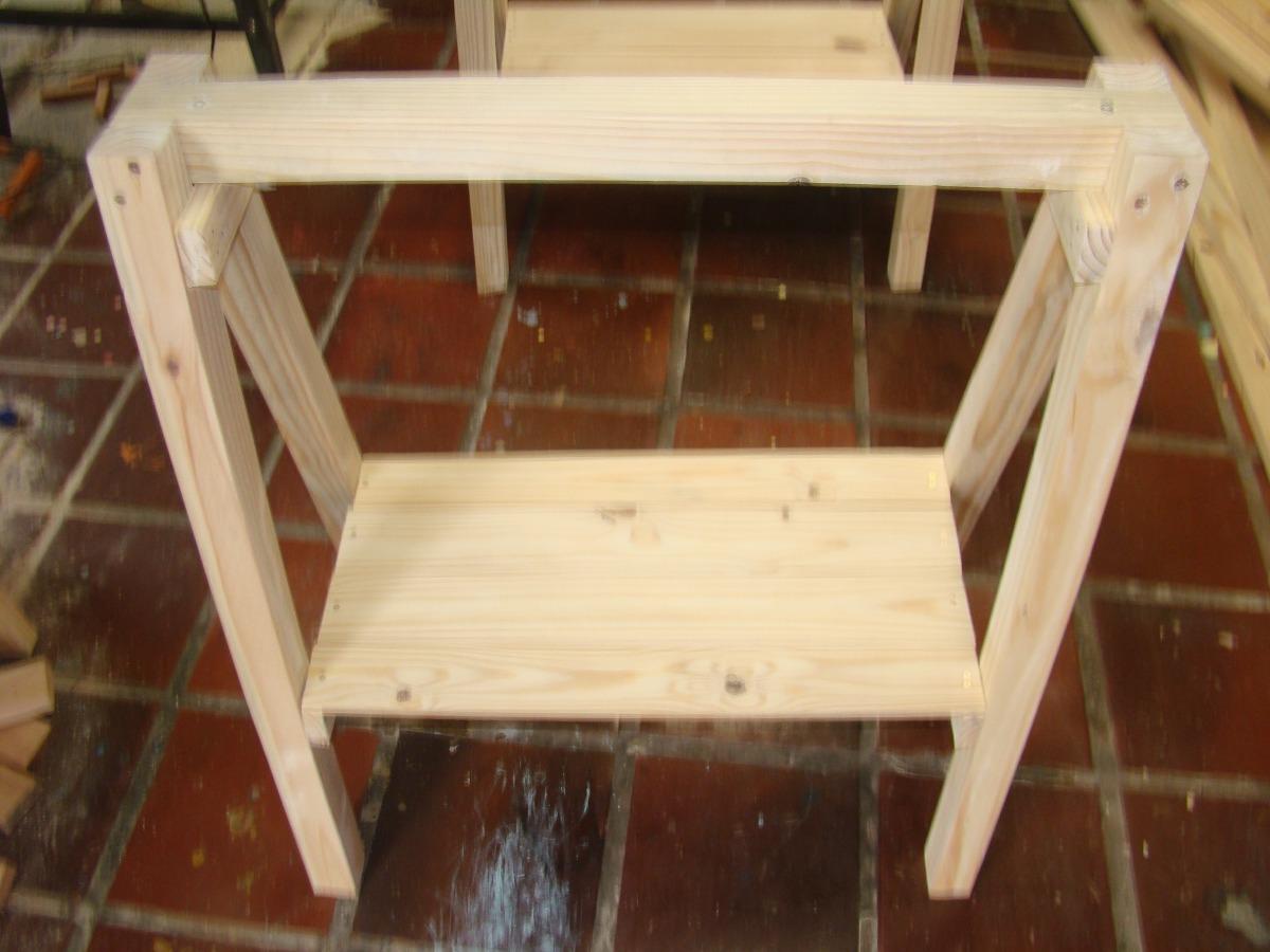 Cavaletes De Madeira Mesa R$ 110 00 em Mercado Livre #A0762B 1200x900
