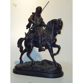 Cavalo Arabe Beduino De Petit Bronze ( Cod 162 )