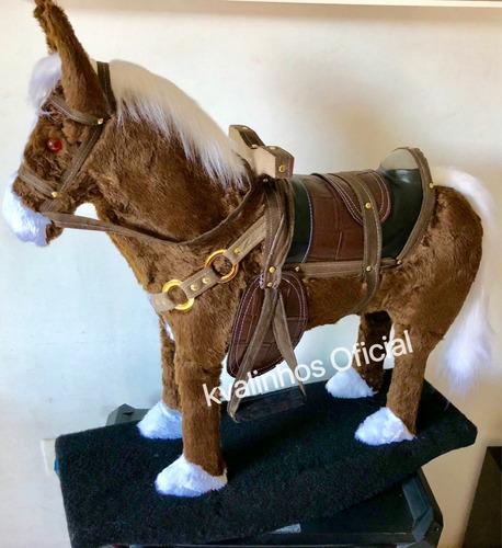 cavalo cavalinho brinquedo balanço gangorra tam grande luxo