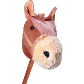 Cavalo De Pelúcia Com Som E Rodas - Lovely Toys