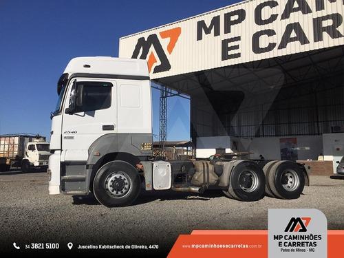 cavalo mecanico  mercedes-benz mb 2540 6x2 teto alto