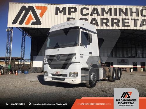 cavalo mecânico mercedes-benz mb 2540 6x2 teto alto 2009 !!!