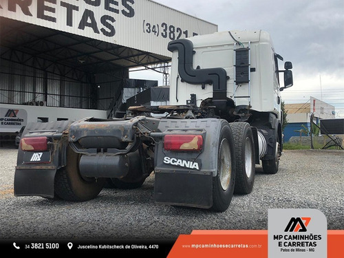 cavalo mecânico scania g420 2011 6x4