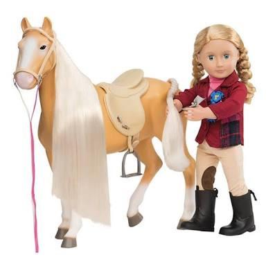 cavalo our generation rosa candide a pronta entrega
