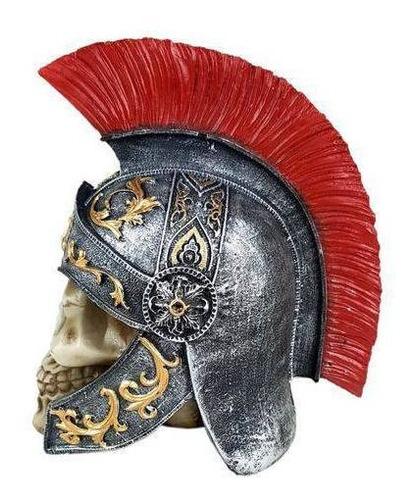 caveira crânio soldado romano guerreiro viking 6144