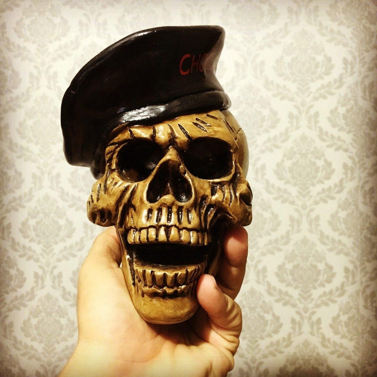 a90a8813b5499 Caveira Militar - Caveira Boina - Skull - Frete Gratis