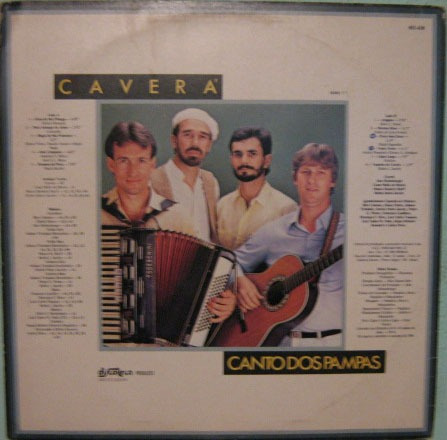 caverá - canto dos pampas - 1987