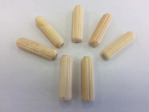 cavilha de madeira (tarugo) 6x30 montagens moveis 1000 und