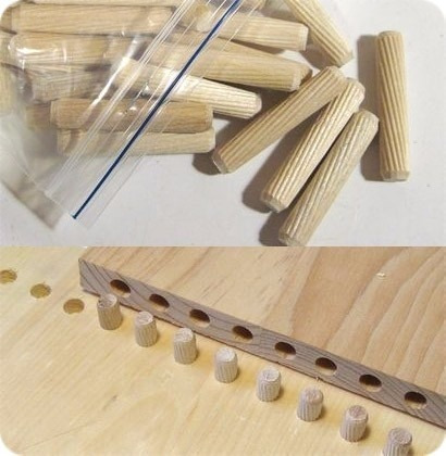 cavilha madeira marfim 8x40 mm montagens moveis 200 un c75