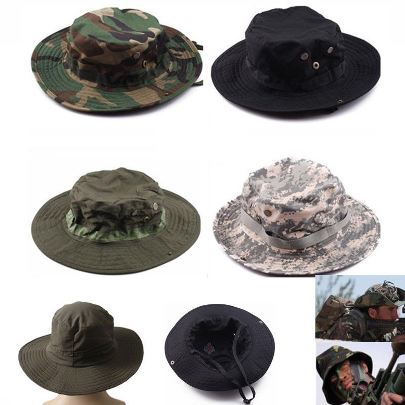 caza sombrero militar del ejército australiano... (black). Cargando zoom. 76d7f077b21