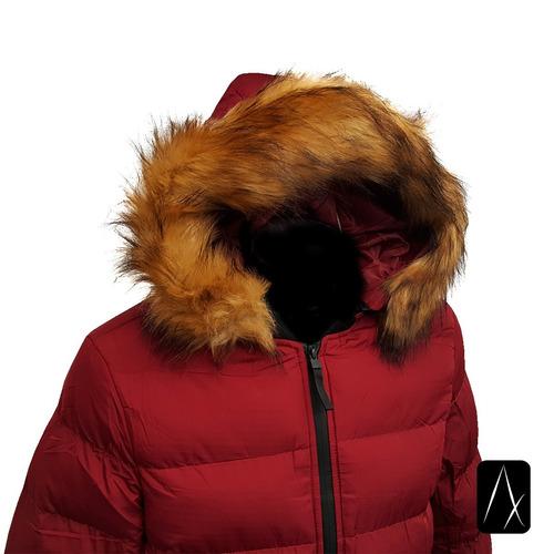 cazadora hombre peluche premium abrigo chamarra termica men