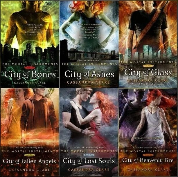 Cazadores De Sombras 9 Libros Cassandra Clare Pdf Epub