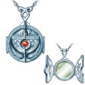 cazadores de sombras collar replica del portal relicario