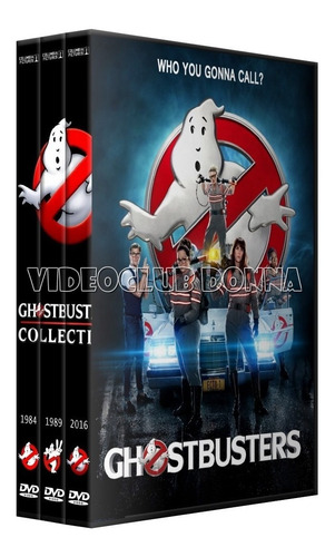 cazafantasmas ghostbusters saga completa 3 dvd pack coleccio