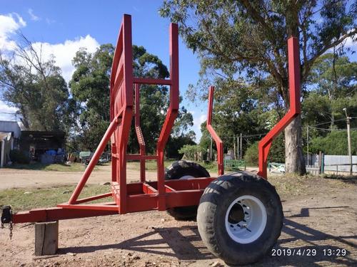 cazamba o zorra forestal 7500 kgs
