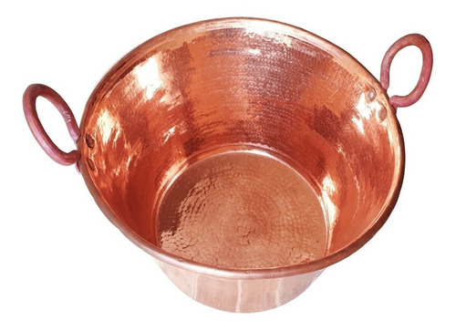 cazo de cobre de 35 litros