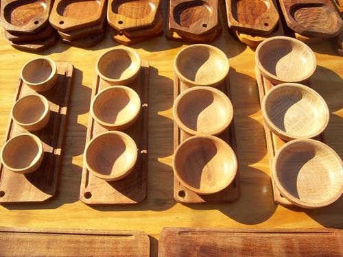 cazuelas cuenco madera algarrobo calden 12 cm tienda liv