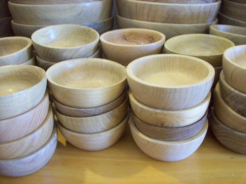 cazuelas cuenco madera calden 10 cm x 10 u