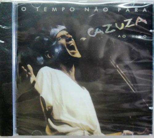 cazuza cd o tempo não para lacrado mpb rock pop dance funk