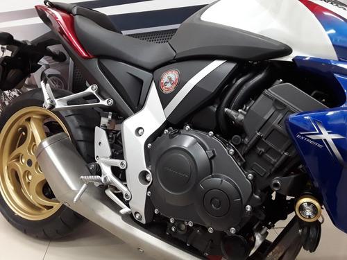 cb 1000r motor 4 tempos / 4 cilindros / 16 válvulas - 126cv