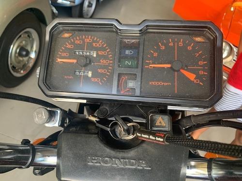 cb 450 1984 placa preta