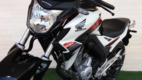 cb250f twister freios a disco cbs, painel digital - vd/troc