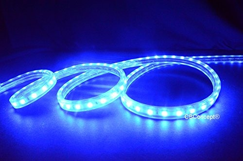 cbconcept ul listed, 10 feet, super bright 2700 lumen, azul,