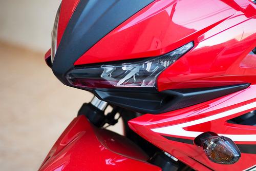 cbr500r - baixa km - linda moto
