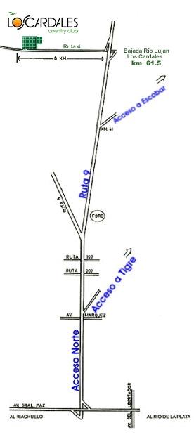 c.c. los cardales lote buena zona en venta 700 m² esquina !