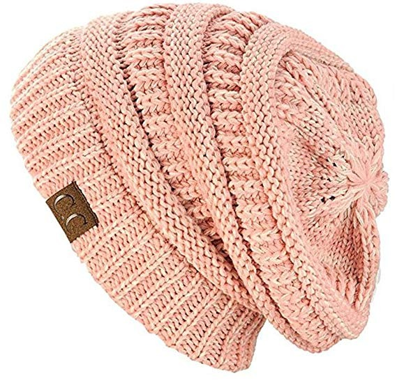 47bd4f06c2423f C.c Trendy Warm Chunky Soft Stretch Cable Knit Beanie Skully ...