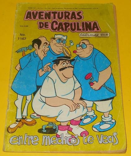 ccc21 editormex aventuras de capulina #1167 año 1984